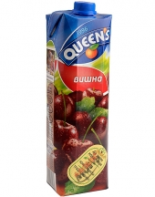 Fruit juice Queens sour cherry 1L