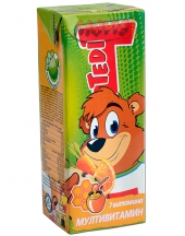 Fruit juice Tedi multivitamins