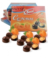 Chocolates Sezoni with Apricot Flavour