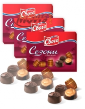 Chocolates Sezoni with rum flavour