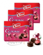 Chocolates Sezoni with Sour Cherry Flavour