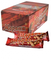 Шоколадова вафла Морена кутия 30броя
