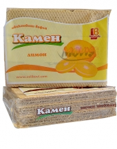 Plain wafers Kamen with lemon flavour