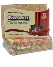 Plain wafers Kamen with chocolate spread