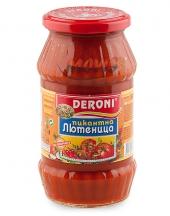 Spicy lutenitsa Deroni 520g