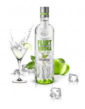Vodka Flirt Green Apple 700ml