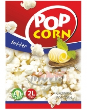 Microwave Popcorn with butter POP CORN