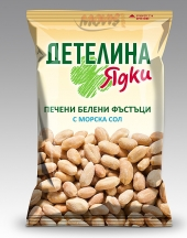 Roasted peanuts without skin and sea salt Detelina