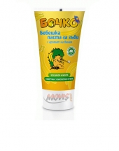 Bochko baby toothpaste with banana flavour