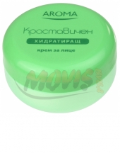 Hydrating face cream Cucumber Aroma