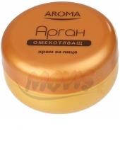 Crème adoucissante pour le visage à l'argan