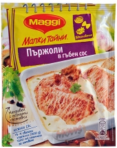 MAGGI® Fix Little Secrets for steak with mushroom sauce