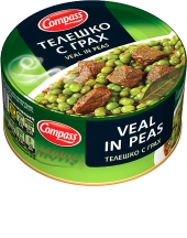 Beef in peas Compass 300g