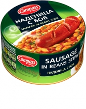 Sausage in beans stew