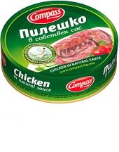 Chicken in natural sauce