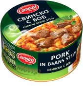 Pork in beans stew
