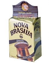 Ground coffee Nova Brasilia for pot 100g