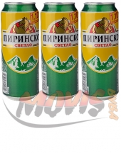 Pirinsko Light 500ml can