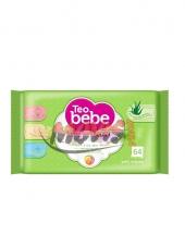 Wet Wipes Teo Bebe 64 pieces