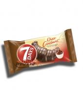 Кроасан 7 Days шоколадова глазура и шоколадов пълнеж