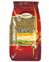 National taste green lentils  1kg Familex