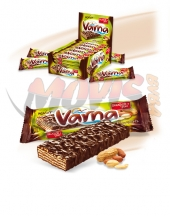 Wafer Varna with peanuts
