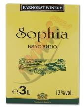 Вино София  3л. Бяло