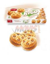 Biscuits Rigo with peanut cream
