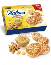 Biscuites Navona with peanut cream