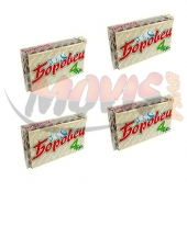 Wafer Borovets with peanut stuffing 4pieces