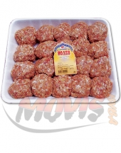 Beef meatballs for grill Nolev 2kg