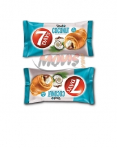 Croissant 7Days Double cacao & coconut