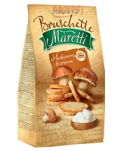 Bruschette Maretti Mushrooms and Cream