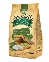 Bruschette Maretti Spinach and Cheese