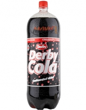 Carbonated drink Derby Cola 3L