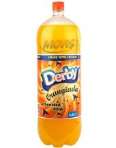 Carbonated Drink Derby Orange 3L