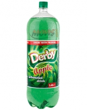 Carbonated drink Derby apple 3L